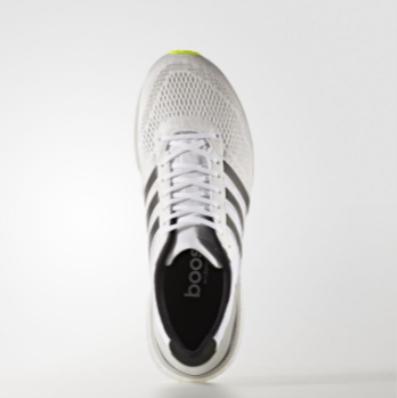 Adidas Adizero Boston 6 Εκπτωση,Παπουτσια Για Τρεξιμο Ανδρικα Ασπρα Ασημι Κίτρινα (2)
