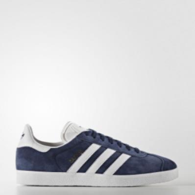 Adidas Gazelle Προσφορες,Παπουτσια Originals Γυναικεια Ασπρα Σκουρο Μπλε Χρυσο Χρωμα Μεταλλικός