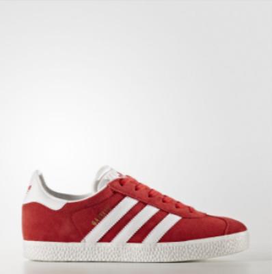 791449f95a Adidas Originals Gazelle κοκκινο ασπρο χρυσο Παιδικα Παπουτσια