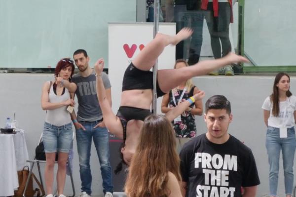 sportstyle pole dance