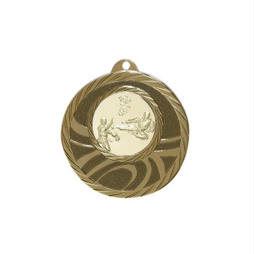 Μετάλλια Για πολεμικές τέχνες Φ50 χάλκινα