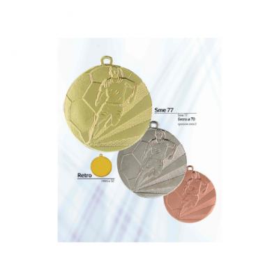 Μετάλλια ποδοσφαίρου Φ70