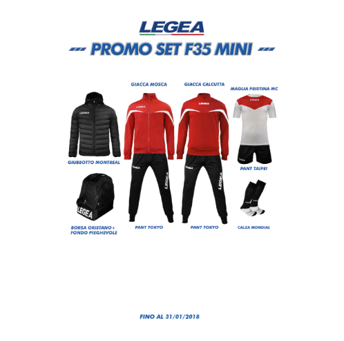 Πακέτα ομάδων legea Box promo set f35 slim