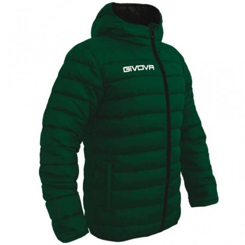 Αντρικό μπουφάν givova olanda green /black