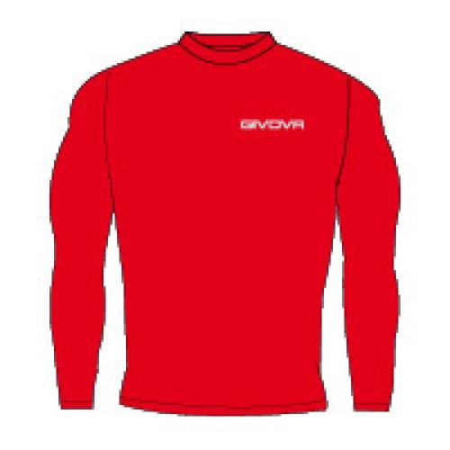 Ισοθερμικό μπλουζάκι givova red