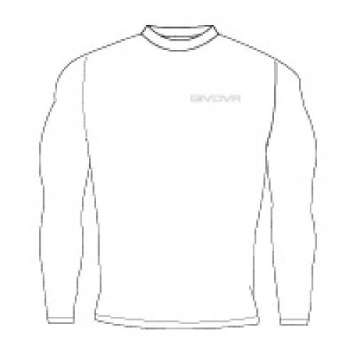 Ισοθερμικό μπλουζάκι givova corpus 3 maglia white