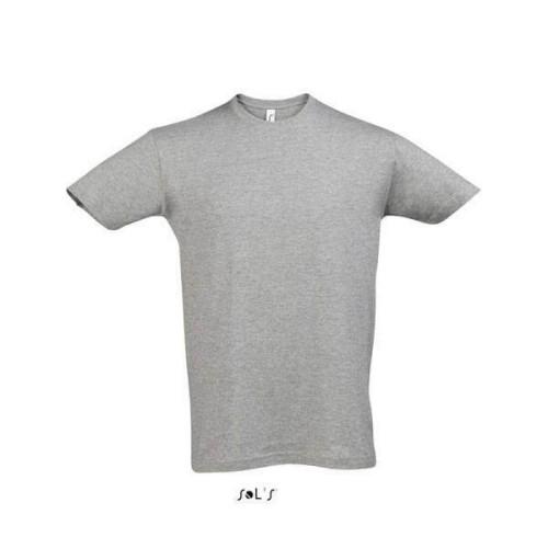 Unisex μπλουζάκι από 100% βαμβάκι. Διαθέτει κοντό μανίκι,στρογγυλή λαιμόκοψη,πλαϊνές ραφές και στενή γραμμή για τέλεια εφαρμογή. χρώμα GREY