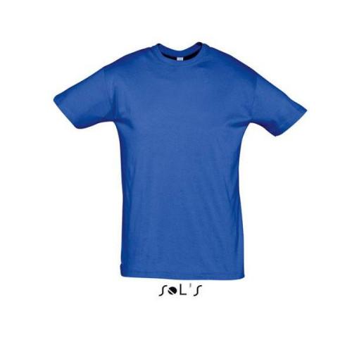 Μακό Μπλουζάκι SOL'S REGENT ROYAL BLUE
